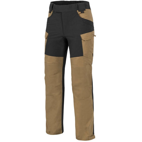 HELIKON-TEX HYBRID OUTBACK PANTS® - DURACANVAS® - COYOTE/BLACK A