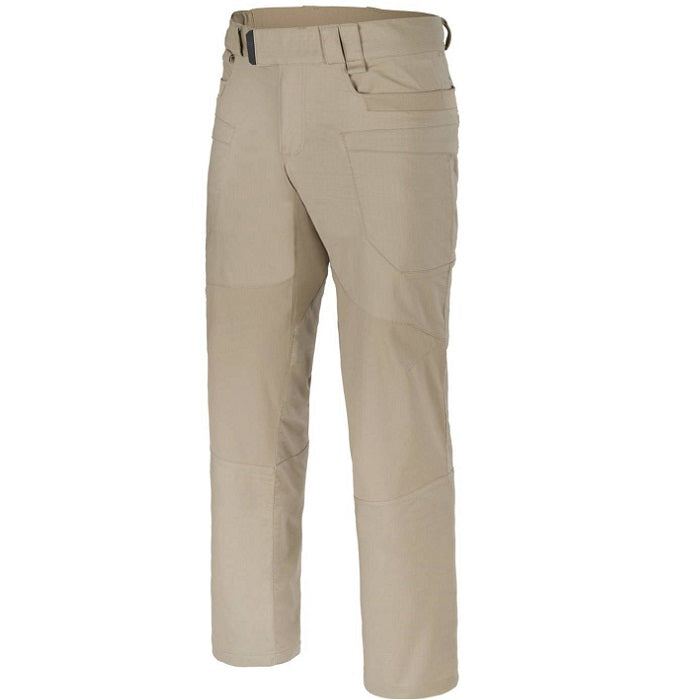 HELIKON-TEX HYBRID TACTICAL PANTS® - POLYCOTTON RIPSTOP - KHAKI