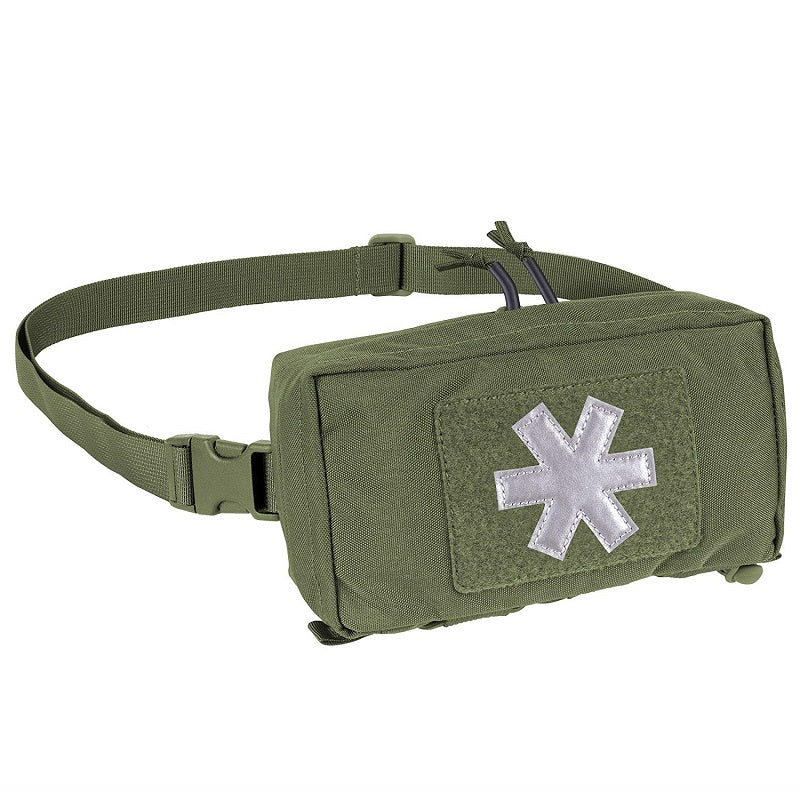 HELIKON-TEX MODULAR INDIVIDUAL MED KIT® POUCH - CORDURA® - OLIVE GREEN