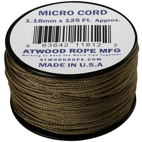 HELIKON-TEX MICRO CORD (125FT) - COYOTE