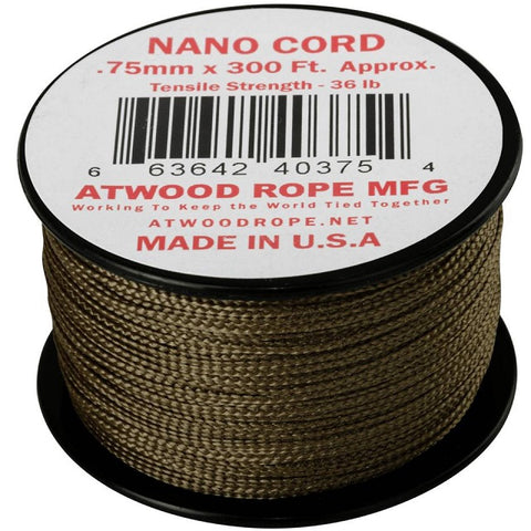 HELIKON-TEX NANO CORD (300FT) - COYOTE