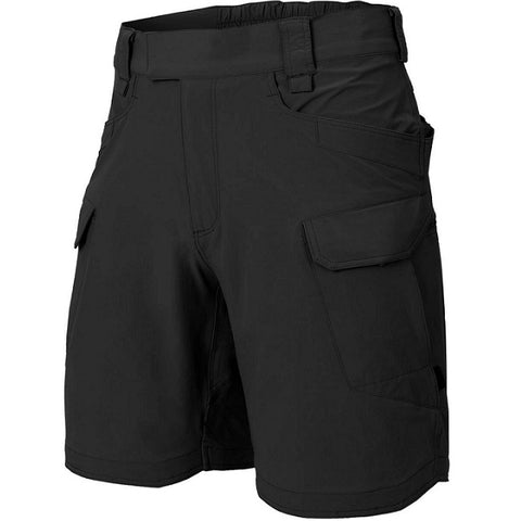 "HELIKON-TEX OTS (OUTDOOR TACTICAL SHORTS) 8.5""® - VERSASTRECTH® LITE - BLACK"