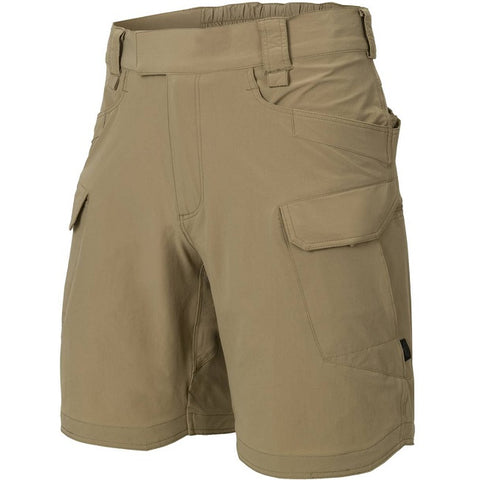 "HELIKON-TEX OTS (OUTDOOR TACTICAL SHORTS) 8.5""® - VERSASTRECTH® LITE - KHAKI"