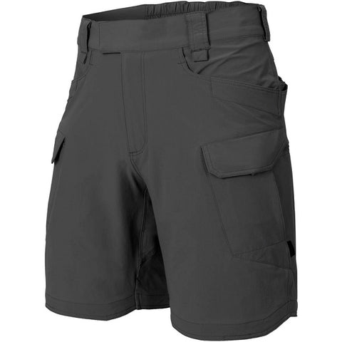 "HELIKON-TEX OTS (OUTDOOR TACTICAL SHORTS) 8.5""® - VERSASTRECTH® LITE - SHADOW GREY"