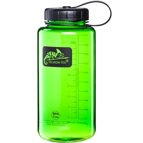 HELIKON-TEX TRITAN™ BOTTLE WIDE MOUTH (1 LITER) - GREEN/BLACK A