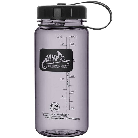 HELIKON-TEX TRITAN™ BOTTLE WIDE MOUTH - 550 ML - SMOKED