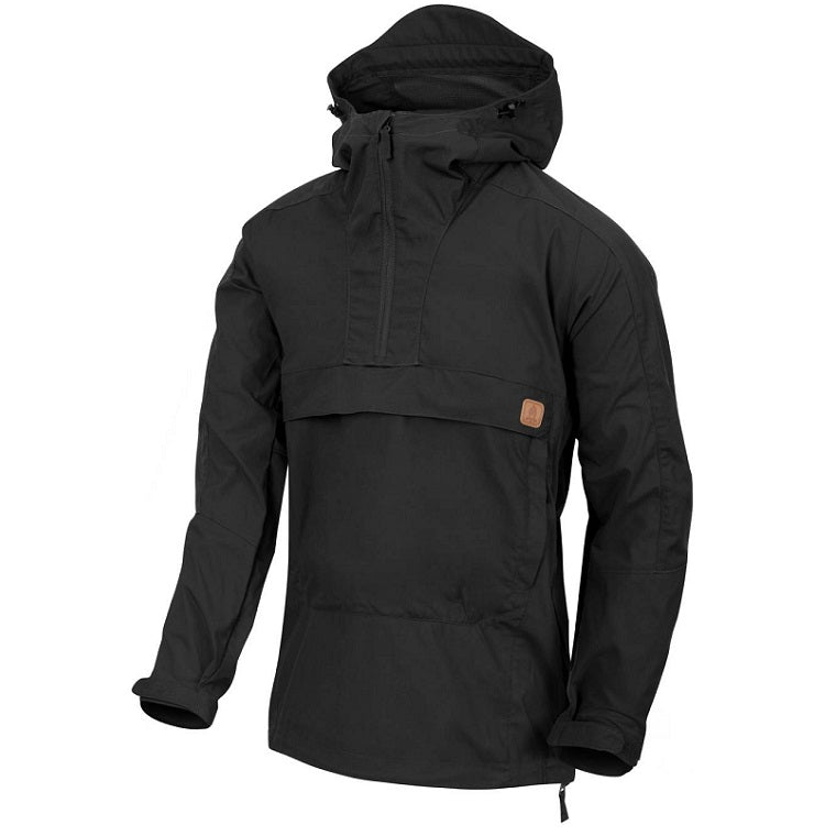 HELIKON-TEX WOODSMAN ANORAK JACKET - BLACK