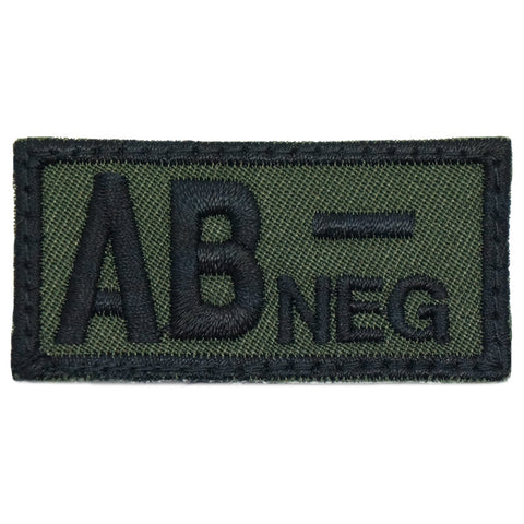 HGS BLOOD GROUP PATCH - AB NEGATIVE (OD GREEN)
