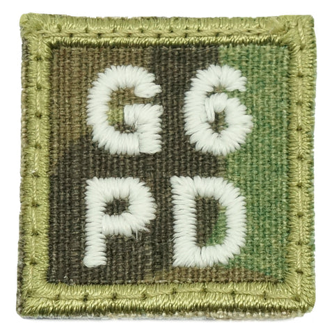 "HGS BLOOD GROUP 1"" PATCH, G6PD (MULTICAM)"