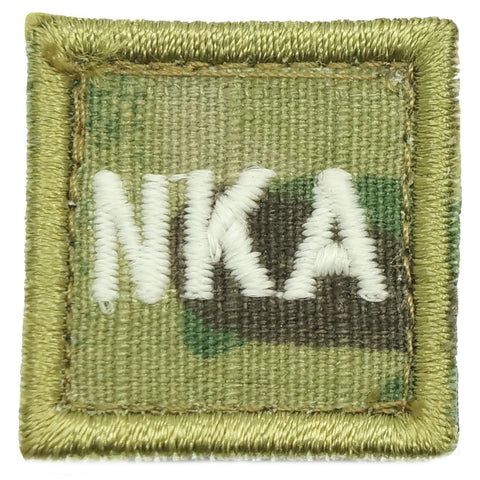 "HGS BLOOD GROUP 1"" PATCH, NKA (MULTICAM)"