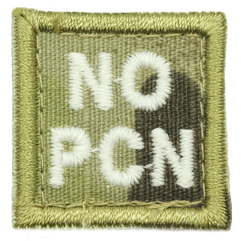 "HGS BLOOD GROUP 1"" PATCH, NO PCN (MULTICAM)"