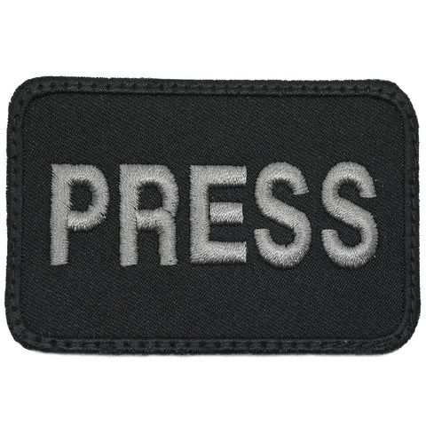 PRESS PATCH - BLACK FOLIAGE