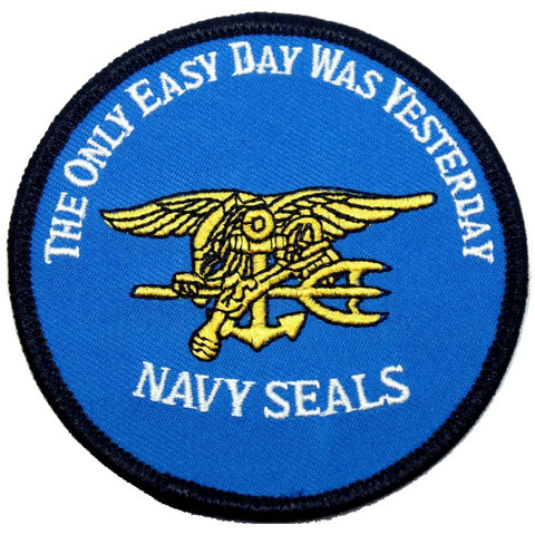 HIGH DESERT NAVY SEAL PATCH - BLUE - Hock Gift Shop | Army Online Store in Singapore