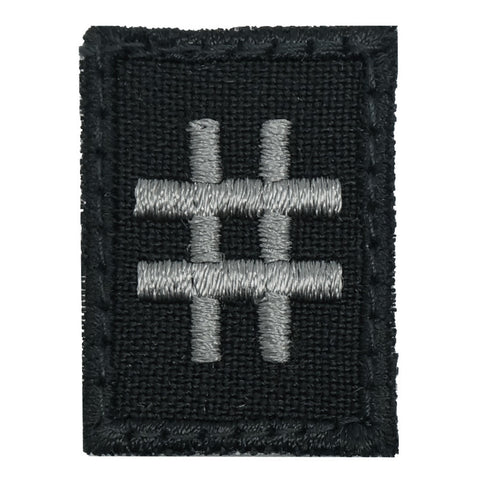HGS HASHTAG PATCH - BLACK FOLIAGE