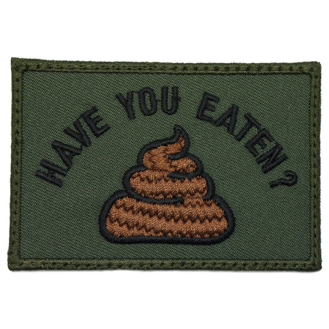 HAVE YOU EATEN PATCH - OD GREEN