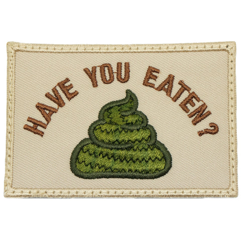 HAVE YOU EATEN PATCH - KHAKI