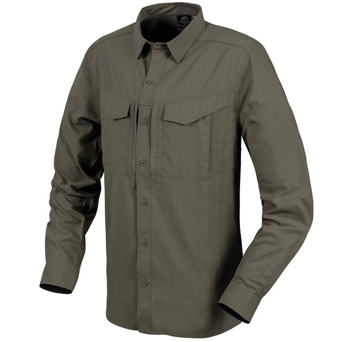 HELIKON-TEX DEFENDER MK2 TROPICAL SHIRT - DARK OLIVE