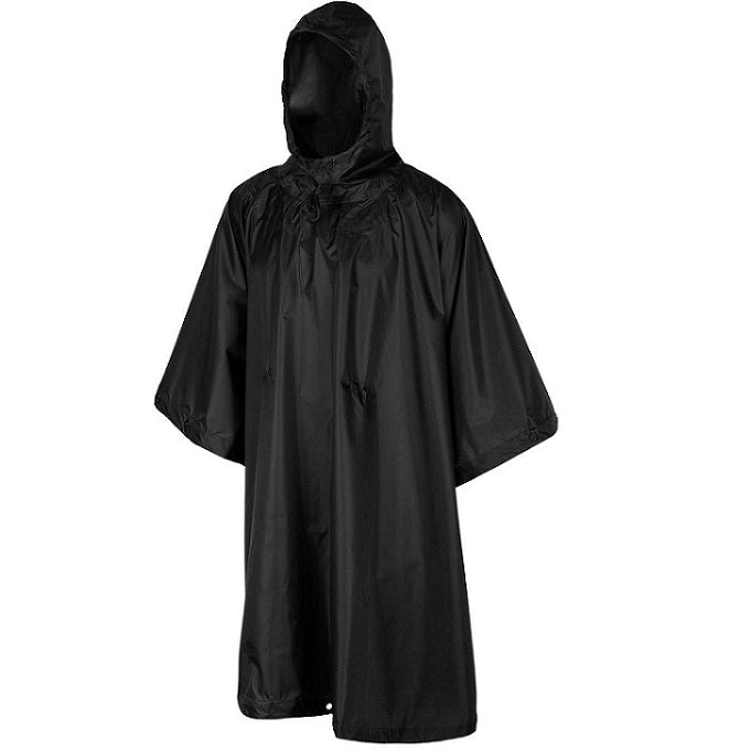 HELIKON-TEX PONCHO U.S MODEL - BLACK