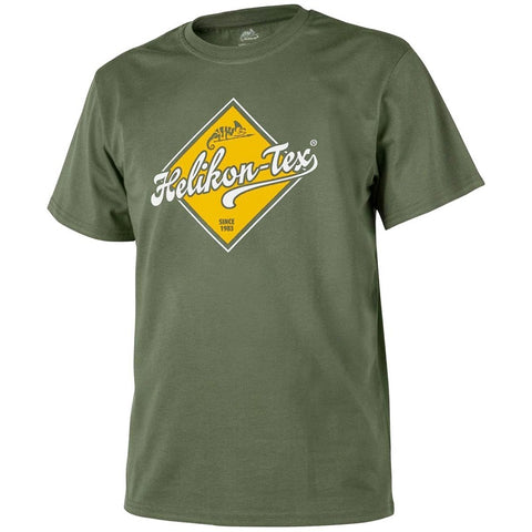 HELIKON-TEX ROAD SIGN T-SHIRT - OLIVE GREEN