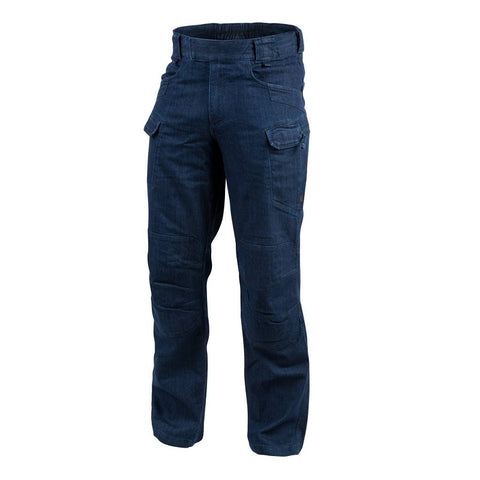 HELIKON-TEX URBAN TACTICAL PANTS - DENIM MID