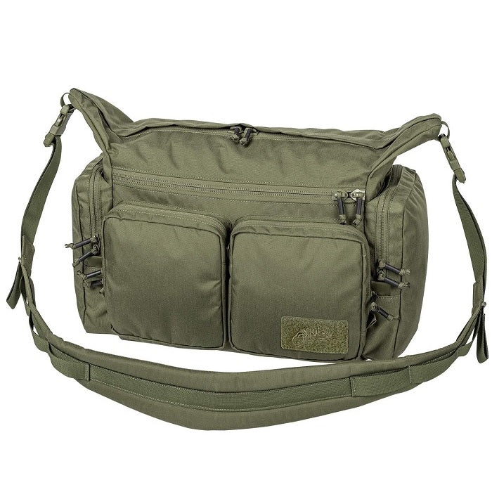 HELIKON-TEX WOMBAT MK2 SHOULDER BAG - 10.5L (OLIVE GREEN)