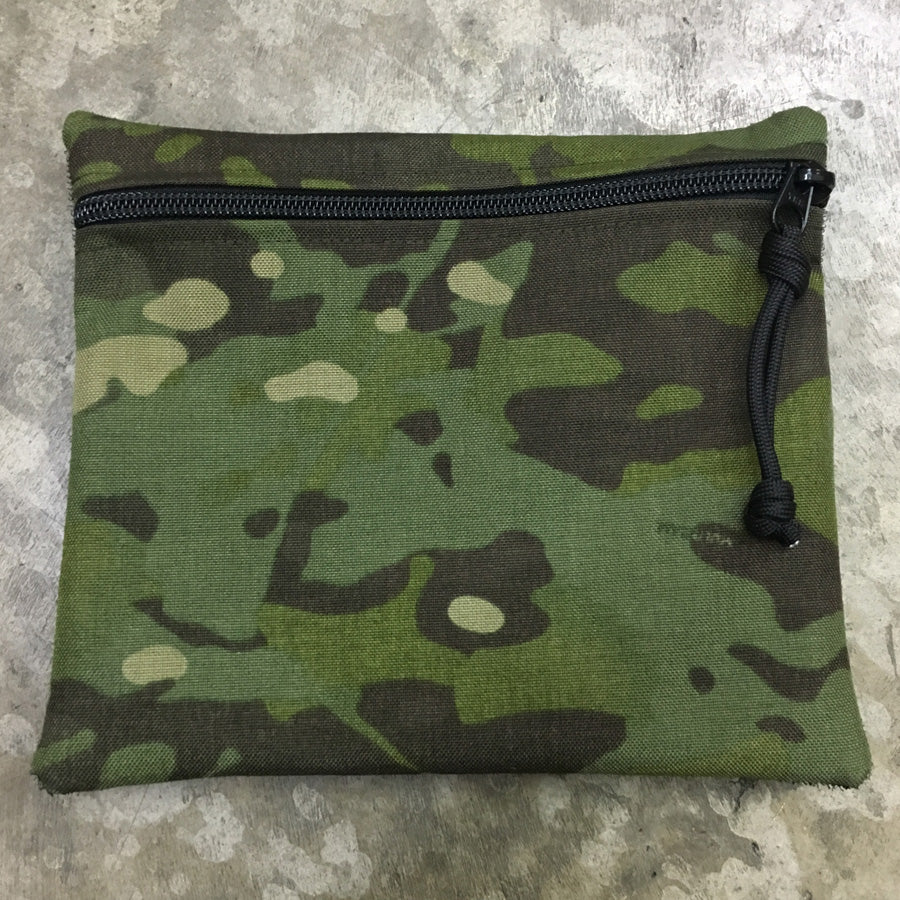 MIL-SPEC EDC POUCH HOOK SIDE VELCRO - 500 DENIER CORDURA (MULTICAM TROPIC)