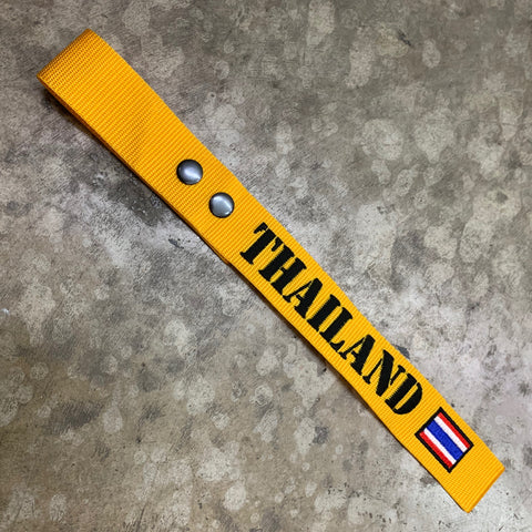 LUGGAGE TAG CUSTOMIZATION WITH THAILAND FLAG