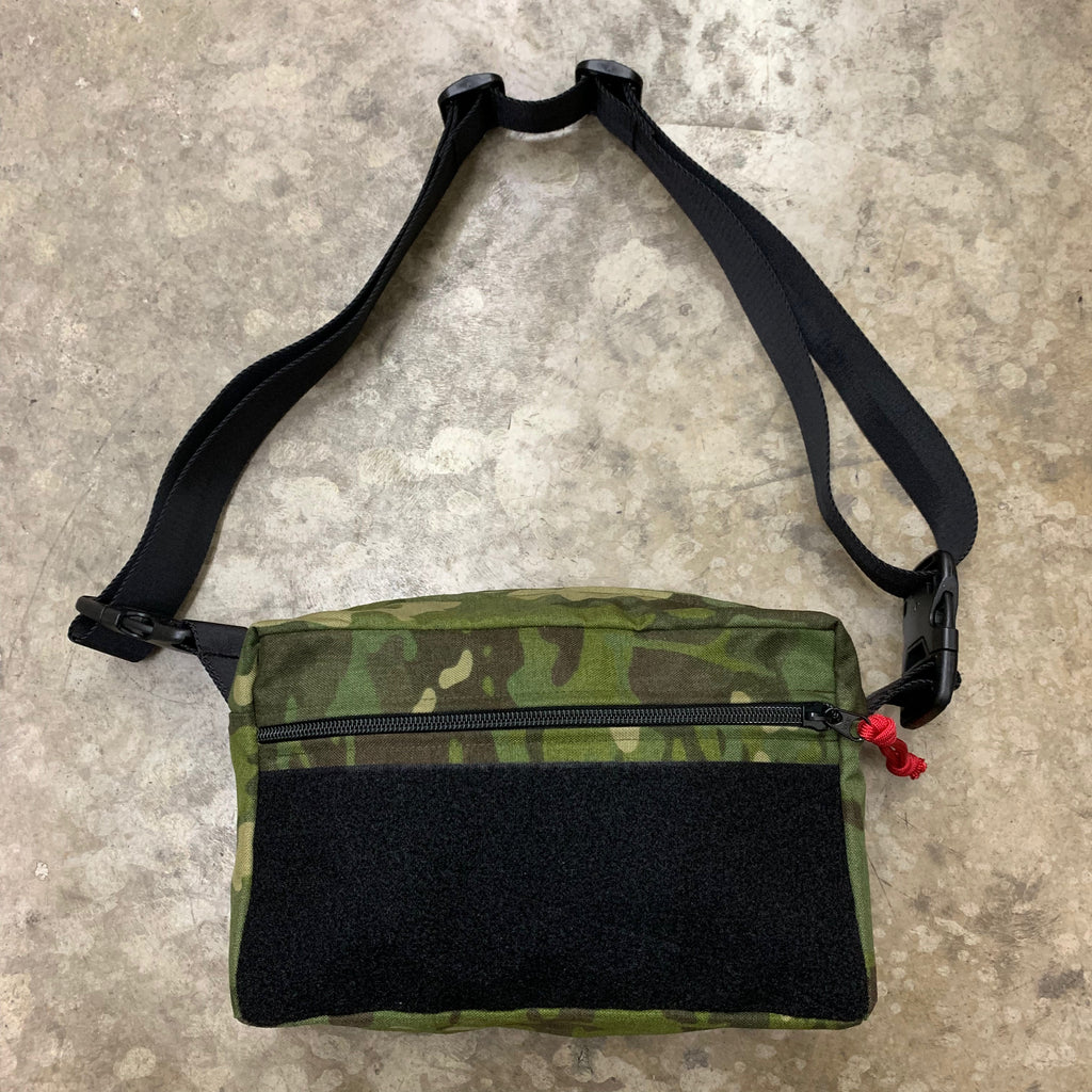 MIL-SPEC SHOULDER SLING BAG - 500 DENIER CORDURA (MULTICAM TROPIC)