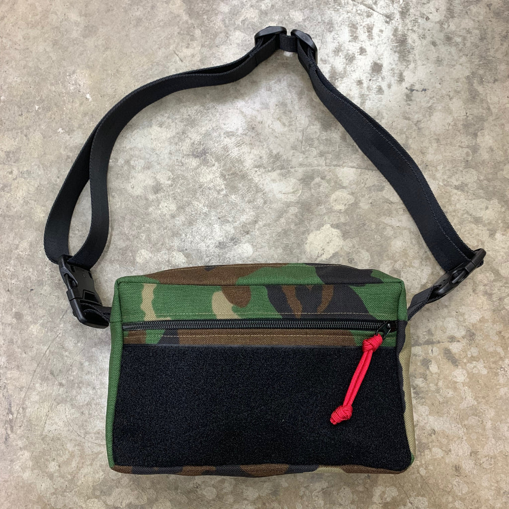 MIL-SPEC SHOULDER SLING BAG - 1000 DENIER CORDURA (U.S. WOODLAND)
