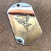 LOGO DOG TAG - STAINLESS STEEL (3RD COY)
