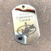 LOGO DOG TAG - STAINLESS STEEL (JUNGLE CONFIDENCE COURSE)