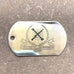 LOGO DOG TAG - STAINLESS STEEL (MES)