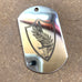 LOGO DOG TAG - STAINLESS STEEL (US CENTRAL COMMAND)