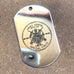 LOGO DOG TAG - STAINLESS STEEL (ARMY SNIPER)