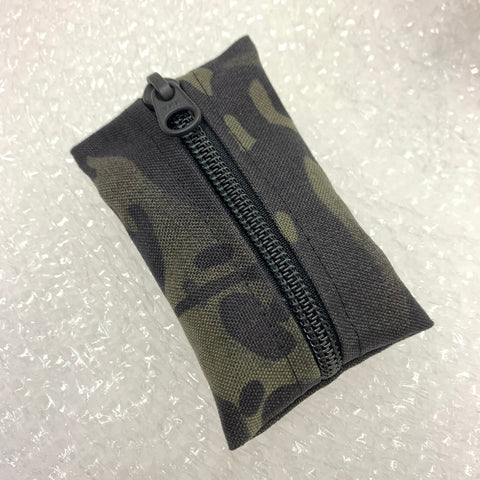 MIL-SPEC KEY WALLET - 500 DENIER CORDURA (MULTICAM BLACK)