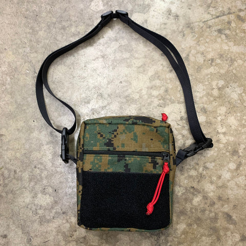 MIL-SPEC COVERT POCKET SLING BAG - 1000D CORDURA (DIGITAL WOODLAND)