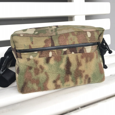 MIL-SPEC SHOULDER SLING BAG - 1000 DENIER CORDURA, SPLASHPROOF ZIPPERS (MULTICAM)