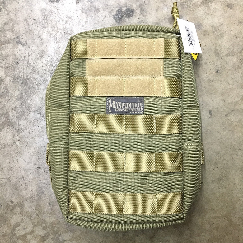 "MAXPEDITION 6"" X 9"" PADDED POUCH - KHAKI"