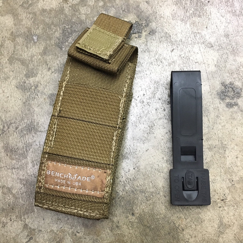BENCHMADE MOLLE FOLDER POUCH - COYOTE