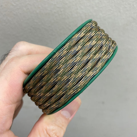 550 PARACORD MINI SPOOL - ATWOOD ROPE MFG MULTICAM
