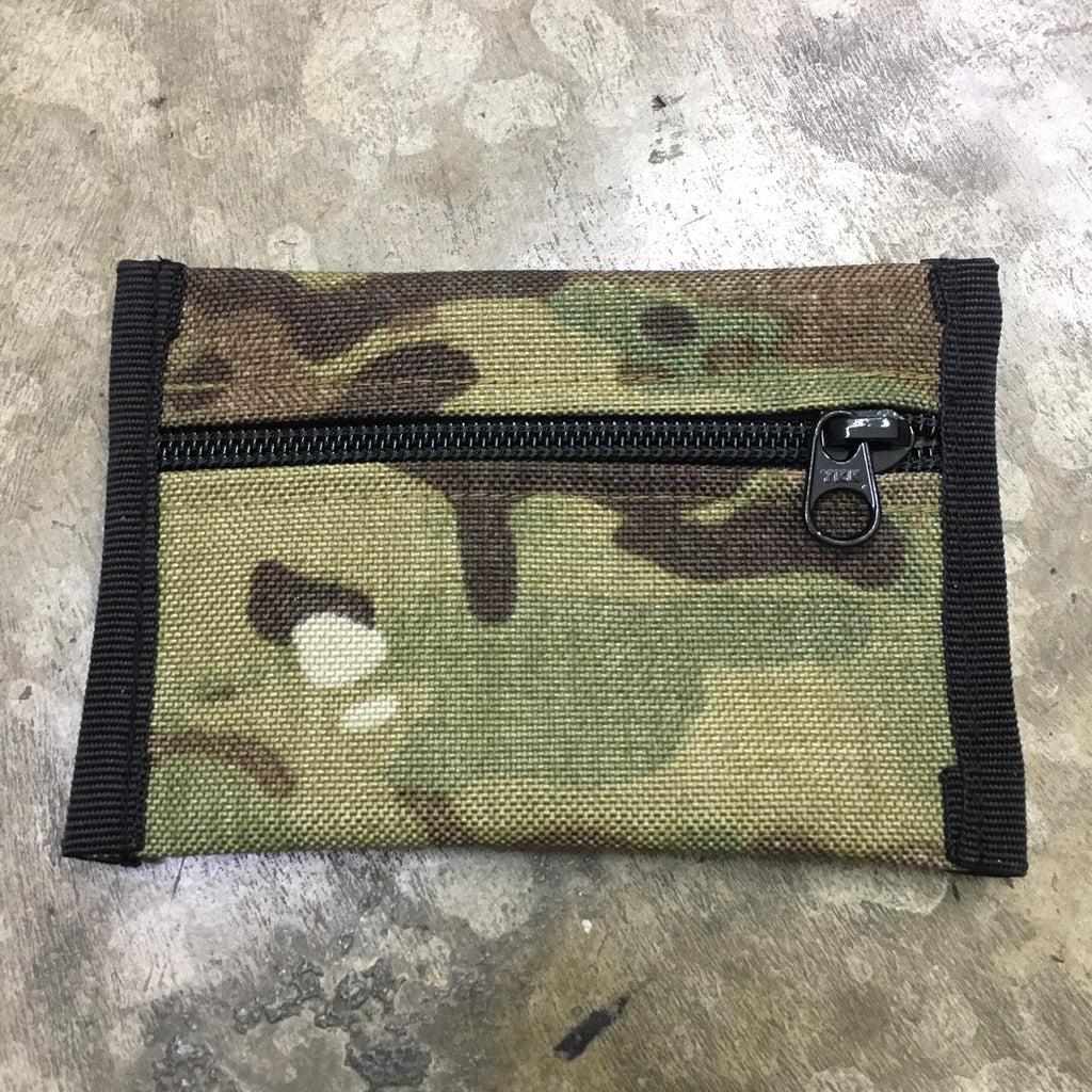 MIL SPEC CARD CASE WITH LOOP SIDE VELCRO - (MULTICAM)