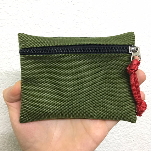 MIL-SPEC MINI EDC POUCH - LOOP SIDE VELCRO (OD GREEN)