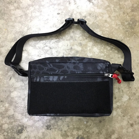 MIL-SPEC SHOULDER SLING BAG - 1000 DENIER CORDURA (KRYPTEK TYPHON)
