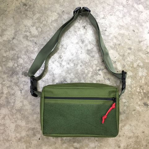 MIL-SPEC SHOULDER SLING BAG - 1000 DENIER CORDURA (OD GREEN)