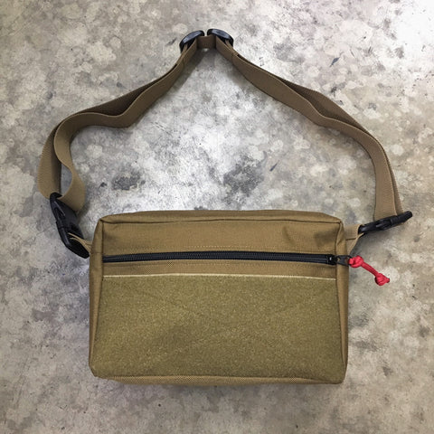 MIL-SPEC SHOULDER SLING BAG - 1000 DENIER CORDURA (COYOTE)