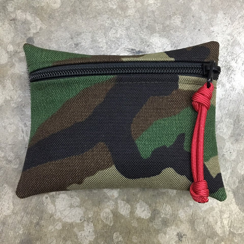 MIL-SPEC MINI EDC POUCH - LOOP SIDE VELCRO (US WOODLAND)
