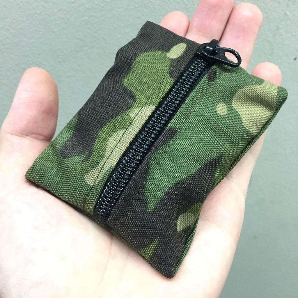 MIL-SPEC KEY WALLET WITH CARD POCKET - 500 DENIER CORDURA (MULTICAM TROPIC)
