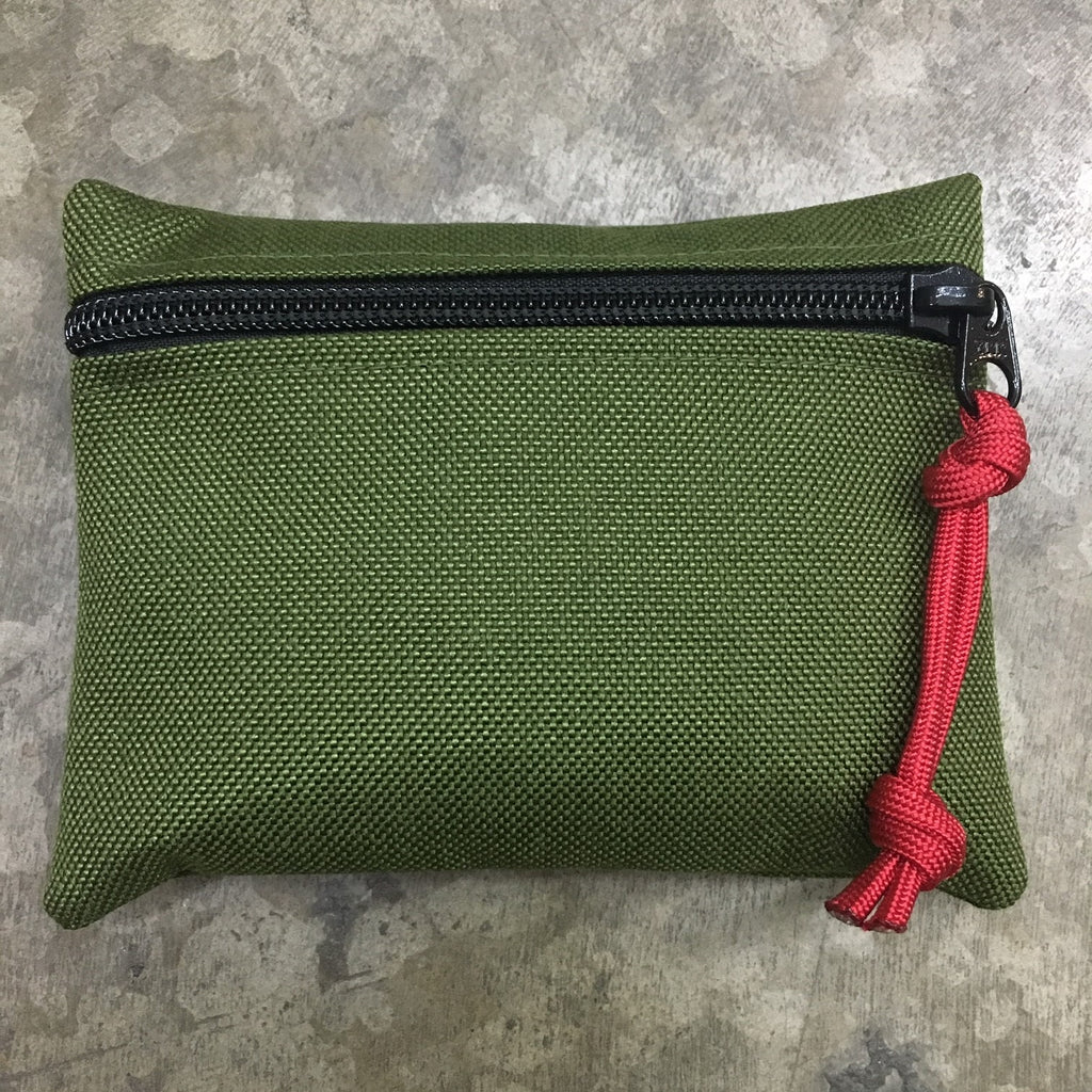 MIL-SPEC MINI EDC POUCH - HOOK SIDE VELCRO (OD GREEN)