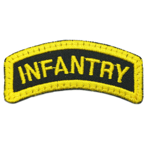 INFANTRY TAB - BLACK YELLOW