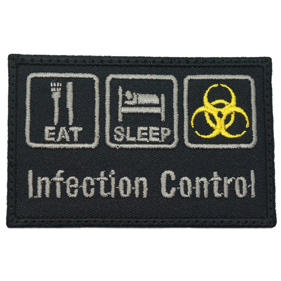 INFECTION CONTROL PATCH - BLACK FOLIAGE